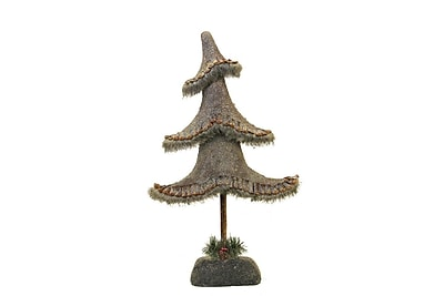 "Northlight 23.5"" Glittered Country Rustic Tree Christmas Tabletop Decoration (32262124)"