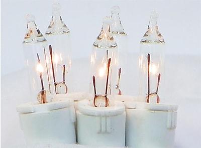 GKI/Bethlehem Lighting Set of 35 Clear Perm-O-Snap Mini Twinkle Christmas Lights 6
