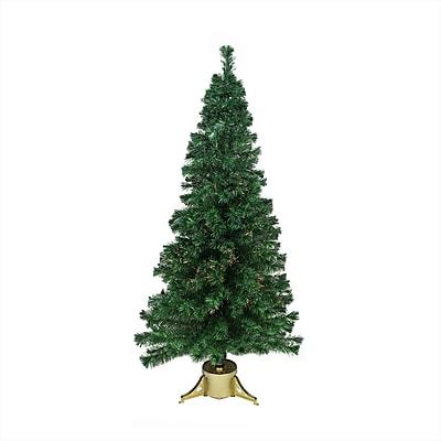DAK 6' Pre-Lit Color Changing Fiber Optic Artificial Christmas Tree - Multi Lights (16160757)