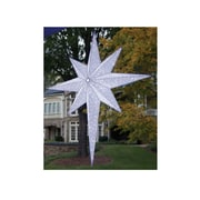 "GKI/Bethlehem Lighting 54"" LED Lighted White and Silver Moravian Star Commercial Hanging Christmas Light Decoration (31734314)"