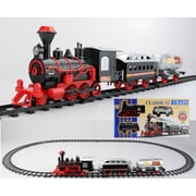 Northlight 13-Piece Battery Operated Lighted & Animated Christmas Express Train Set with Sound (31758934)
