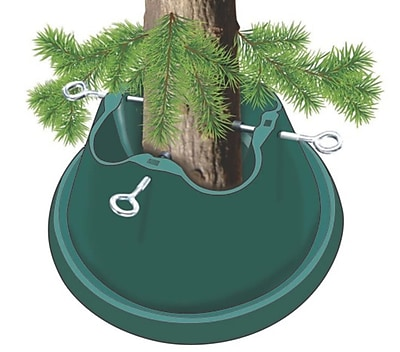St. Nick's Choice Heavy Duty Green Easy Watering Christmas Tree Stand - For Live Trees Up To 8' (30870184)