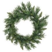 "Vickerman 18"" Artificial Imperial Pine Christmas Wreath - Unlit (31464128)"