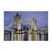 "Northlight LED Lighted Famous London Bridge Canvas Wall Art 15.75"" x 23.5"" (31535664)"
