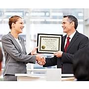 Masterpiece Studios Appreciation Certificates, Metallic Gold, 18/Pack (20104238)