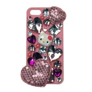 Hello Kitty Deco Cover For Iphone 5- Pink Case With Pink Hearts And Bling (Kt4496Pg-Pd)