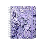 "Undated Vera Bradley 7.25"" x 8.75"" Weekly & Monthly Planner, Deep Night Paisley (200164)"