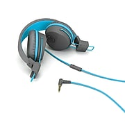 JBuddies Studio On-Ear Kids Headphone,Gray/Blue (JKSTUDIO-GRYBLU-BOX)