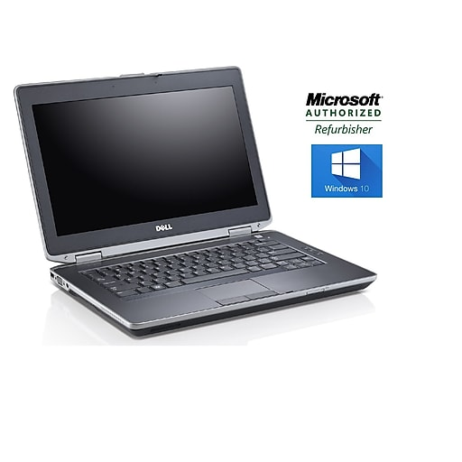 Refurbished Dell Latitude E6430, Intel i7, 2 9 GHz, 8GB, 500GB HDD, DVDRW,  14, Win 10 Pro