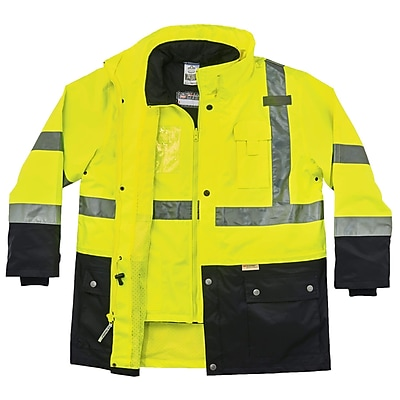 GloWear® 8388 Type R Class 3/2 Thermal Jacket Kit, Lime, Small (25532)