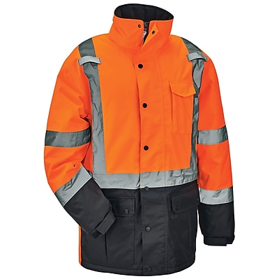 GloWear® 8384 Type R Class 3 Thermal Parka, Orange, Small (25572)