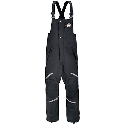 N-Ferno® 6471 Thermal Bibs/Overalls, Black, L (41214)