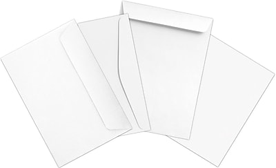 LUX Business Envelopes and Stationery Set 400/Pack, 24 lb. White (OFFICEBUNDLE-2)