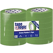 "Tape Logic™ 1"" x 60 Yards Painters Tape, Green, 12 Rolls (T935320012PK)"
