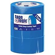 "Tape Logic™ 2"" x 36 yds. Solid Vinyl Safety Tape, Blue,  3/Pack"