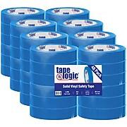 """Tape Logic™ 1"""" x 36 yds. Solid Vinyl Safety Tape, Blue, 48/Case"""