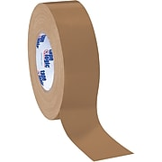 """Tape Logic Economy Cloth Duct Tape, 2"""" x 60 Yards, Brown, 3 Carton (T987100BR3PK)"""