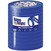 "Tape Logic® 3000 Painter's Tape, 5.2 Mil, 1/2"" x 60 yds., Blue, 12/Case (T933300012PK)"