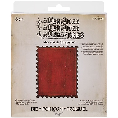 Sizzix Movers & Shapers Base Die By Tim Holtz 5.5