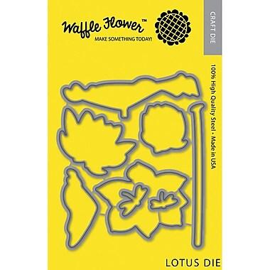 Waffle Flower Crafts Lotus Die (WF310036)