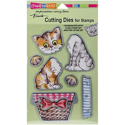 Stampendous Kitties Dies (DCS-5075)