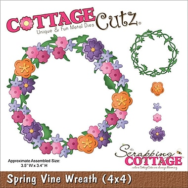 CottageCutz Spring Vine Wreath 3.5