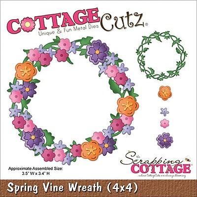 CottageCutz Spring Vine Wreath 3.5