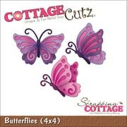 """CottageCutz Die-Butterflies 2.1""""X1.5"""" & 1.7""""X1.8"""""""