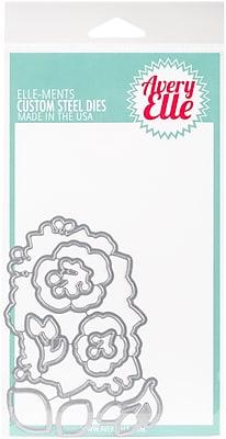 Elle-Ments Dies-Floral Bouquet