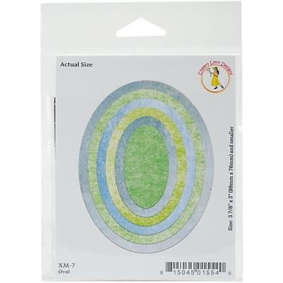 Cheery Lynn Designs Die-Oval, 3.875