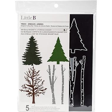 Little B Cutting Die-Trees