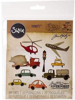 Sizzix Thinlits Dies By Tim Holtz 19/Pkg-Commute Cityscape