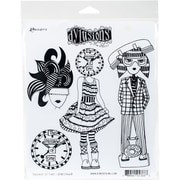 """Dyan Reaveley's Dylusions Cling Stamp Collections 8.5""""X7""""-Passage Of Time"""