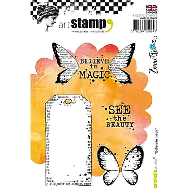 Carabelle Studio Cling Stamp A6-Believe In Magic