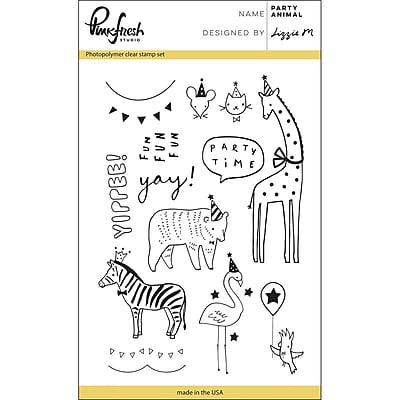 Pinkfresh Studio Clear Stamp Set 4