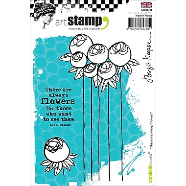 Carabelle Studio Cling Stamp A6-There Are Always Forever