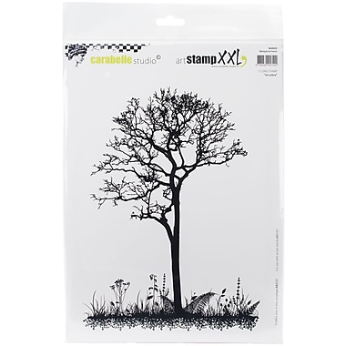 Carabelle Studio Cling Stamp XXL A4-A Tree