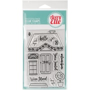 """Avery Elle Clear Stamp Set 4""""X6""""-Welcome Home"""