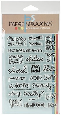 Paper Smooches Clear Stamps 4