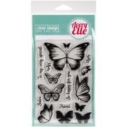 "Avery Elle Clear Stamp Set 4""X6""-Butterflies"
