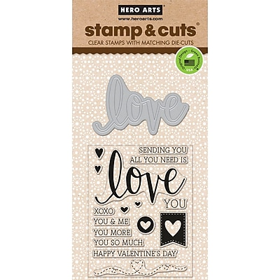 Hero Arts Stamp & Cuts, Love