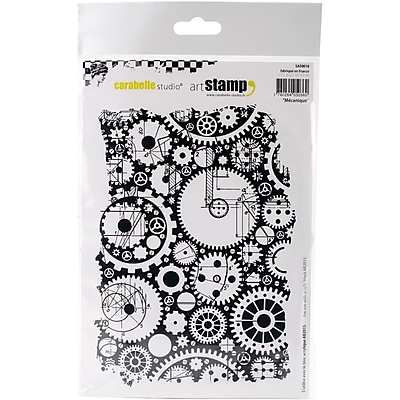 Carabelle Studio Cling Stamp A5-Mechanical