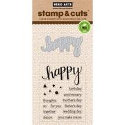 Hero Arts Stamp & Cuts-Happy