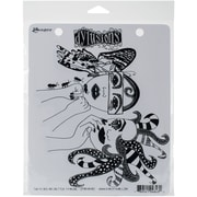 """Dyan Reaveley's Dylusions Cling Stamp Collections 8.5""""X7""""-Two Heads Are Better Than One"""