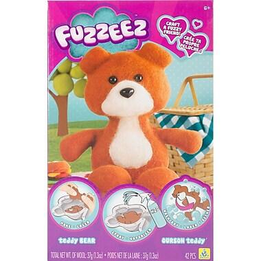 Fuzzeez Felt Kit-Bear