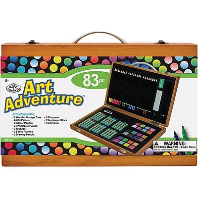 Art Adventure Art Set 83 Pieces-