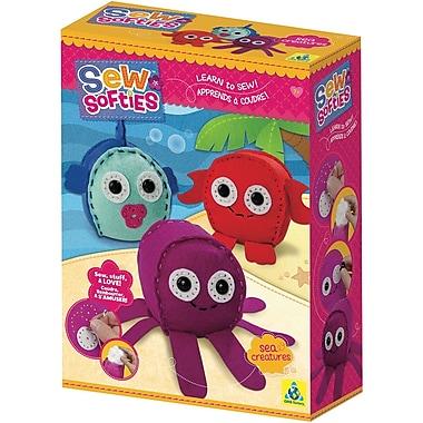 Sew Softies (TM) Sea Creatures Kit-