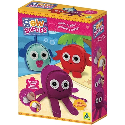 Sew Softies (TM) Sea Creatures Kit-
