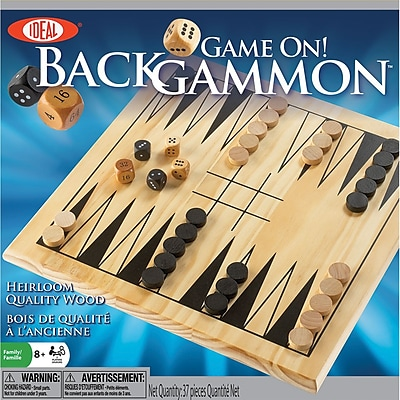 Game On! Backgammon Game-