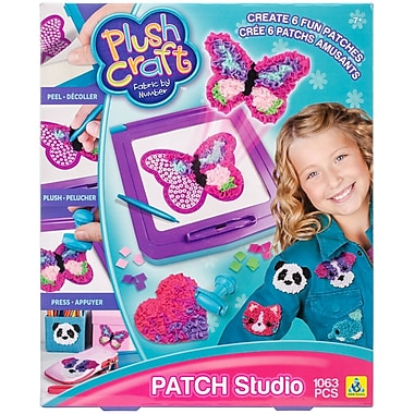 Plush Craft Fabric By Number Patch Studio-Patches